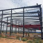 Metal Building Construction Prefabricated Portable Steel Structure Light Industrial Plant