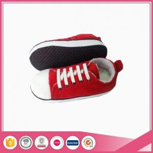 China New Arrival sport style kids indoor slippers likes canvas shoes on sale