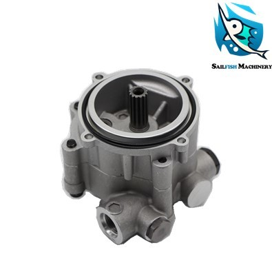 b1cb870acc8 Hot sale good quality K3V63 hydraulic pilot gear pump for KOBELCO SK120-5  SUMITOMO SH120A3 excavator kawasaki part
