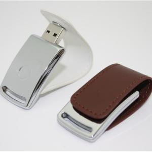 China metal usb flip leather magnetic snap cap on sale