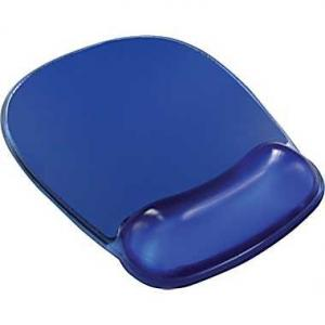 China 41.5x3.3x2cm gel fabric + polyester + rubber fellowes gel wrist rest and mouse pad on sale