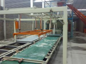 China Glass Magnesium / Straw Board Wall Panel Making Machine for Interior Exterior Partition on sale