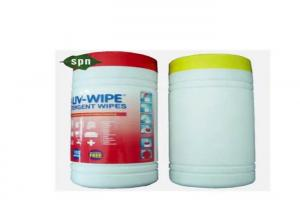 China 75% Alcohol Hospital Grade Cleaning Wipes , Alcohol Cleaning Wipes Spunlace Material on sale