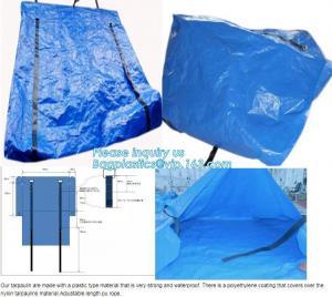 China STRONG SEWING BLUE COATING WATERPROOF PE MATTRESS COVERS,REINFORCED PORTABLE MULTI-PURPOSE POLYTHYLENE TARPAULIN, NYLON on sale