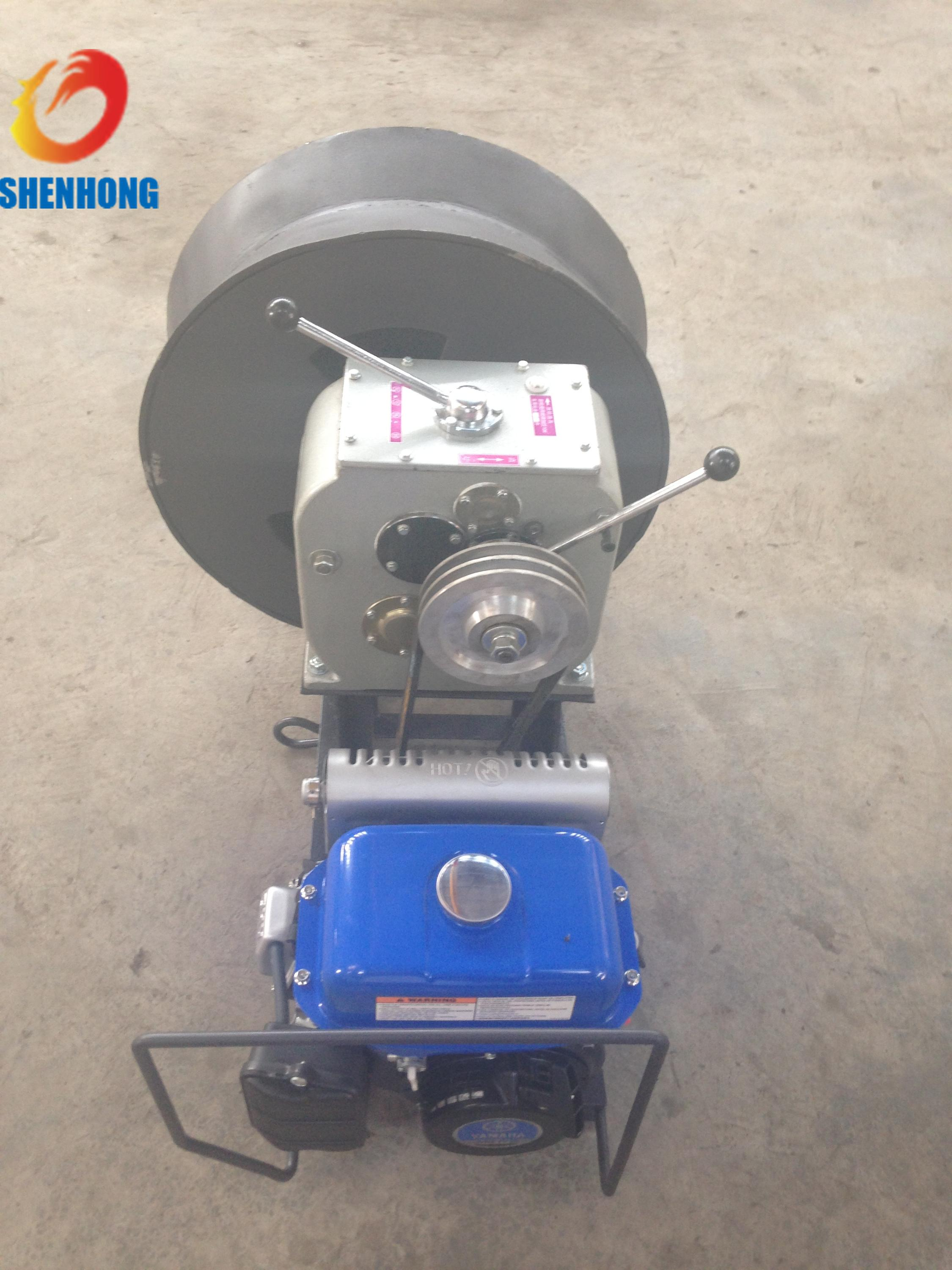 Gas Powered Winch 3Ton Cable Drum Winch Threading Machine Yamaha ...