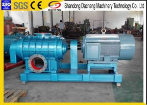 China Fish Pond Roots Industrial Air Blower Postive Displacement Type SGS Certificate on sale