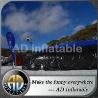 Mobile amusement park inflatable air cushion