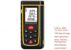 China 10 key 40M Laser Distance Meter Rangefinder Range Finder Electronic Ruler Digital Tape Measure Area volume Tool Bubble on sale