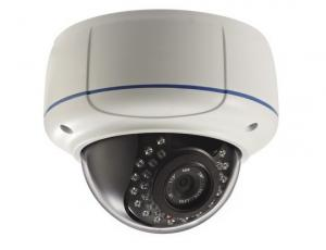 China H.264 Privacy Mask IP Network Security Camera Dome 720P / 960P With IR-Cut Filter on sale
