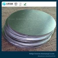 China Alloy 1050 O Aluminium Discs Circles Silver Color Corrosion Resistance on sale