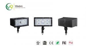 China Residential 45W Slim LED Flood Light Knuckle mount photocell 4950 lumens 5000k UL DLC AC 120-277V // WSD-FL45W27-50K on sale