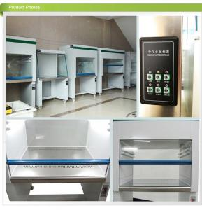 China Single Pharmacy 220V Clean Room Cabinets / Laminar Flow Cabinet 99.995% Efficiency on sale