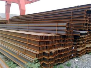 China 900 x 300 mm Low Weight Steel H Channel , H Shape Steel Beam Carbon on sale