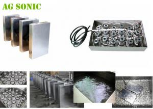 China Separate Sweep Generator Control Immersible Ultrasonic Transducer Box 40khz SUS304 on sale