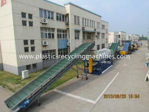 China Stainless Steel 304 Structure Plastic Recycling Machines For Garbage Film on sale