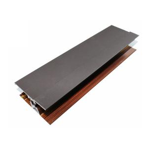 China Wood Finished Kitchen Cabinet Profiles , Industrial Aluminum Extrusion Framing on sale