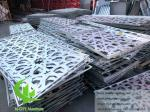 Perforated Aluminum panels for curtain wall cladding facade exterior