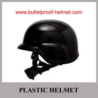 China Wholesale Cheap China Army Black Military Police Plastic Anti Riot Helmet on sale