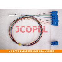 Fiber Splitting CATV Optical Spliter 1X8 Low Insertion Loss PKC Splitters