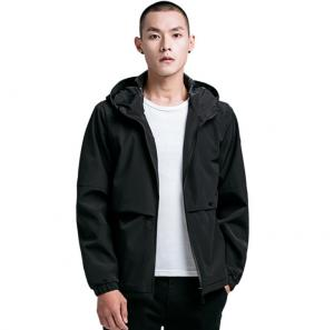 China Outdoor Casual Mens Flight Jacket Sportswear Hooded Plus Size Eco Friendly on sale