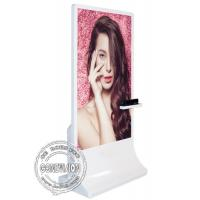 65inch Floor Stand Wifi Digital Signage,Windows 10 Digital Signage Kiosk,Interactive Screen With Kinect Camera
