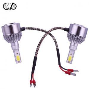 China Waterproof H3 LED Conversion Kit , LED Headlight Replacement Kit DC 9V-36V on sale