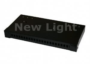 China Network Optical Fiber Distribution Frame 19 Inch 24 Port Rack Mounted For Indoor on sale
