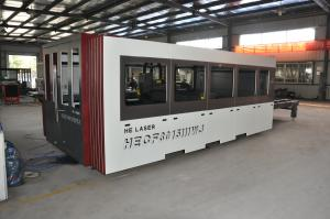 China Enclosed Room Steel Cutting Laser Machine HECF3015IIWJ ISO SGS Certification on sale
