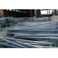 China Galvanized Mild Steel Seamless Tube 16KHM Wind Speed For Street Light Steel Lamp on sale
