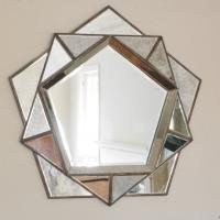 mirror coffee table J003
