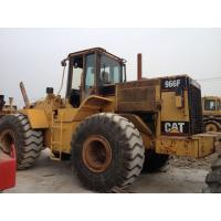 China used wheel loader cat 966f on sale