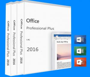 China Microsoft Office Professional Plus 2016 Product Key Digital License Office 2016 on sale