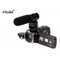 4K Video High Definition Digital Camcorder 2.7 Inch Screen Remote Control Support