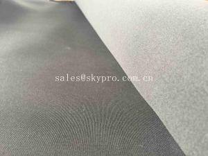 China 2mm 100% SBR Neoprene Fabric Roll Laminated With Nylon Jersey Polyester Shiny on sale
