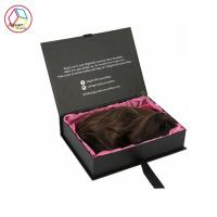 China Luxury Hair Extensions Packaging Box , Virgin Hair Packaging Box on sale