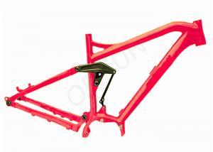 China Electric Full Suspension Mtb Frame , 29er Mtb Bike Frames Mid - Drive Motor on sale