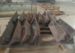 China Recycling Lead Ingot Mold , Aluminum Ingot Mold Cast Steel Or Cast Iron Material on sale