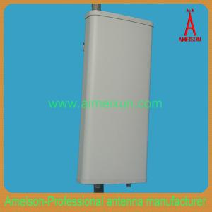 China 698-960MHz 2x11dBi Dual X-Polarity 90 Degrees Sector Antenna LTE DMA GSM antenna on sale