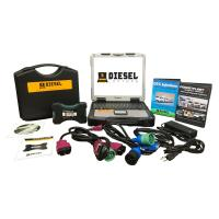 Universal Diesel Truck Diagnostic Laptop Tool Scanner Complete Kit with Laptop
