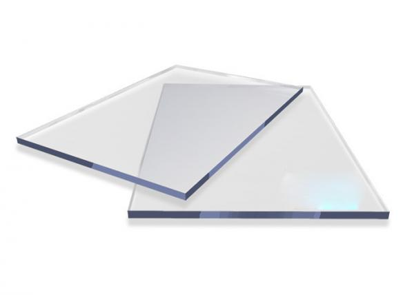 Solid Flat Roofing Panels Clear Polycarbonate Sheet ...
