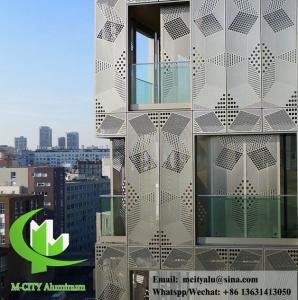 China Professional Aluminium Building Cladding Waterproof Aluminum Facade Panels on sale