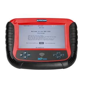 China 2017 V18.9 SKP1000 Tablet Car Key Programmer With  mileage correction,remote controller, Oil/service Reset on sale