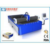 China 1000 Watt Laser Fiber Cutting Machine for Copper Sheet Metal on sale
