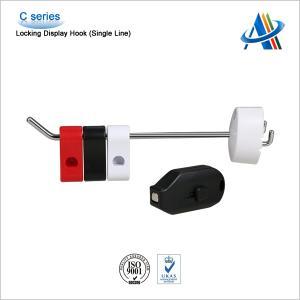 China EAS security hook lockes/stoplocks for single prong hooks with magnetic detacher key on sale