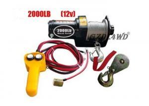 4000lb Load Capacity 12V Heavy Duty Steel Power Winch for Car Boat ATV Cable Winch