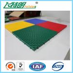 Easy Installation Interlocked Rubber Floor Tiles For Volleyball Court
