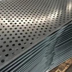 China Customized Perforated Aluminum Sheet 3003 H14 Round Hole Perforated Sheet on sale