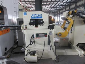 China Hydraulic Steel Coil Uncoiler Automatic Decoiler Feeder With High Precision Feeding on sale