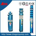 Three-phase power cast iron drawing water from well submersible pump