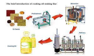 China peanut oil pressing line on sale
